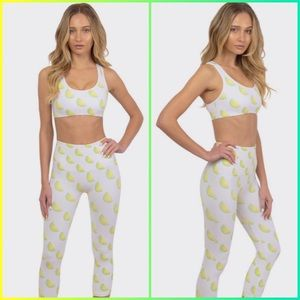 Morgan Stewart Sport Lime Fruit Sports Bra